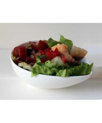 Panzanella salad (vegan)