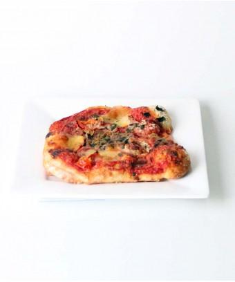 Margarita Pizza slice