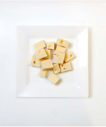 Emmental Cheese cubes